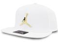 JC030 ジョーダン スナップバック キャップ Jordan Pro Elephant Jumpman Ingot Snapback Cap 帽子 白メタリックゴールド