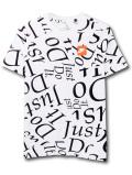 WA722 【SALE・わけあり】 ジュニア ナイキ Tシャツ Nike Just Do It. JDI T-Shirt キッズ ユース トップス 白黒オレンジ 【メール便対応】 サイズM