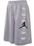 SK318 【メール便対応】 キッズ Jordan Vertical Logo Shorts ジョーダン ショーツ 灰白黒