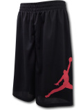 SK319 ジュニア Jordan Jumpman Shorts ジョーダン ショーツ キッズ バスパン 黒赤 【メール便対応】