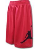 SK320 【メール便対応】 キッズ Jordan Jumpman Shorts ジョーダン ショーツ 赤黒