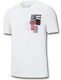 JT108 メンズ ジョーダン Tシャツ Jordan Jumpman Moto T-Shirt 白黒赤 【メール便対応】