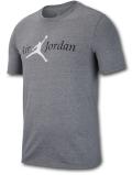 JT107 メンズ ジョーダン Tシャツ Air Jordan T-Shirt 灰黒白 【メール便対応】