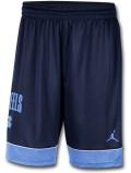 SJ924 メンズ ジョーダン NCAA ノースカロライナ大学 ターヒールズ バスケットボールショーツ North Carolina Tar Heels Shorts カレッジ バスパン 紺水色【ドライフィット】