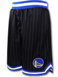 BN726 メンズ NBA ゴールデンステート・ウォリアーズ バスケットボールショーツ UNK Golden State Warriors Shorts アンク バスパン 黒青白