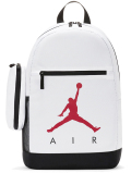JB146 ジョーダン ペンケース付き リュックサック Jordan Backpack & Pencil Case バックパック 白黒赤