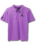 LL397 【メール便対応】 キッズ Jordan Polo ジョーダン ポロシャツ 紫紺