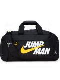 DB162 ジョーダン ダッフルバッグ Jordan Jumpman Duffel Bag スポーツバッグ 黒白黄色