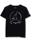 LL555 ジュニア ジョーダン Tシャツ Jordan Youth T-Shirt キッズ ユース トップス 黒白赤 【メール便対応】