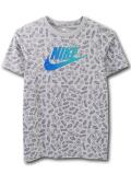 NK443 ジュニア ナイキ Tシャツ Nike Youth T-Shirt キッズ ユース トップス 灰青 【メール便対応】