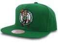 CN211 ミッチェル&ネス NBA ボストン・セルティックス スナップバックキャップ Mitchell & Ness Boston Celtics Snapback Cap 帽子 緑白