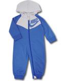 BY224 ベビー ナイキ フード付き カバーオール Nike Infant Coverall ベビー服 赤ちゃん ダークブルー灰 【メール便対応】