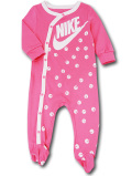 BY229 ベビー ナイキ カバーオール Nike Infant Coverall ベビー服 赤ちゃん ピンク白 【メール便対応】