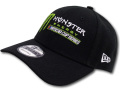 FB391 New Era Monster Energy NASCAR Cup Series Adjustable Cap ニューエラ モンスターエナジー アジャスタブルキャップ 黒