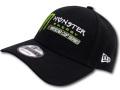 FB391 New Era Monster Energy NASCAR Cup Series Strapback Cap ニューエラ モンスターエナジー キャップ 黒【サイズ調節ベルト付き】
