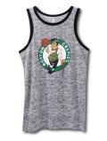 KT099 【メール便対応】 キッズ NBA Boston Celtics ボストン・セルティックス タンクトップ 灰黒