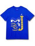 JT114 メンズ ジョーダン Tシャツ Jordan Sport DNA T-Shirt 青黄色白 【メール便対応】