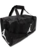 DB149 ジョーダン ダッフルバッグ Jordan Duffel Bag スポーツバッグ S 黒メタリックシルバー