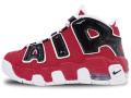 KS817 キッズ/ジュニア Nike Air More Uptempo (PS) ナイキ エアモア アップテンポ シューズ モアテン バーシティレッド白黒