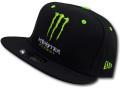 "FB396 New Era Monster Energy NASCAR ""Kurt Busch"" Snapback Cap ニューエラ モンスターエナジー キャップ 黒【サイズ調節ベルト付き】"