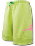 PJ889 メンズ ジョーダン スウェット ハーフパンツ Jordan Jumpman Air Fleece Shorts 黄緑ネオンピンク