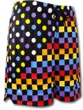 SJ929 メンズ ジョーダン バスケットボール メッシュショーツ Jordan Legacy AJ3 Printed Shorts バスパン 黒マルチカラー