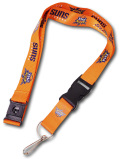 HO771 NBA フェニックス・サンズ ネックストラップ Phoenix Suns Neck Strap Lanyard オレンジ 【メール便対応】
