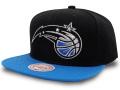 CN213 ミッチェル&ネス NBA オーランド・マジック スナップバックキャップ Mitchell & Ness Orlando Magic Snapback Cap 帽子 黒オリオンブルー