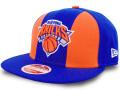 CN216 ニューエラ NBA ニューヨーク・ニックス スナップバックキャップ New Era New York Knicks Snapback Cap 帽子 青オレンジ白