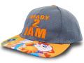 """KC710 ジュニア ルーニー・テューンズ スペースジャム スナップバック キャップ Looney Tunes """"Space Jam"""" A New Legacy Snapback Cap キッズ 帽子 ダークグレーオレンジ"""