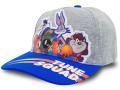 "KC711 ジュニア ルーニー・テューンズ スペースジャム スナップバック キャップ Looney Tunes ""Space Jam"" A New Legacy Snapback Cap キッズ 帽子 灰青"