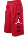 SK328 【メール便対応】 キッズ Jordan Vertical Logo Shorts ジョーダン ショーツ 赤黒白