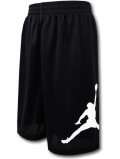 SK329 【メール便対応】 キッズ Jordan Jumpman Shorts ジョーダン ショーツ 黒白