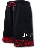 PJ891 メンズ ジョーダン スウェット ハーフパンツ Jordan Legacy AJ6 VI Fleece Shorts 黒ワインレッド白