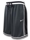 KL667 メンズ ナイキ バスケットボールショーツ Nike Dri-Fit DNA+ Shorts バスパン ダークグレー黒白【ドライフィット】 【ルーズフィット】