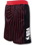 BN731 メンズ NBA ロゴマン バスケットボールショーツ Logo Shorts バスパン 黒赤白