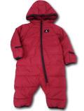 BT101 ベビー ジョーダン スノースーツ Jordan Winter Puffer Hooded Snowsuit Coverall ベビー服 赤ちゃん 中綿カバーオール 赤黒
