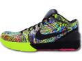 """NS762 Nike Kobe IV Protro """"Wizenard"""" ナイキ コービー 4 プロトロ バスケットシューズ 黒ボルトレーザーフーシャ"""