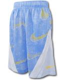 SK464 ジュニア ナイキ バスケットボールショーツ Nike Youth Shorts キッズ バスパン 水色白黄色【ドライフィット】 【メール便対応】