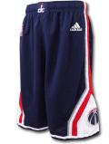 SK466 ジュニア アディダス NBA ワシントン・ウィザーズ スウィングマンショーツ adidas Washington Wizards Swingman Shorts バスパン 紺白赤 【メール便対応】