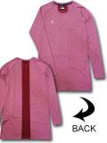 JN444 メンズ ジョーダン コンプレッション ロングスリーブTシャツ Jordan 23 Alpha Compression Long Sleeve トレーニング アンダーウェア ワインレッド白【ドライフィット】 【メール便対応】