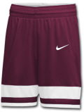 KL676 ナイキ バスケットボール ショーツ Nike Basketball Shorts バスパン ボルドー白【ドライフィット】
