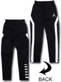 PK137 ジュニア ジョーダン トレーニングパンツ Jordan Pants キッズ 長ズボン ロングパンツ 黒白【ドライフィット】