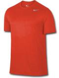 KL684 メンズ ナイキ トレーニング Tシャツ Nike Training T-Shirt スポーツウェア オレンジ灰【ドライフィット】 【メール便対応】