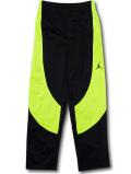 PK140 ジュニア ジョーダン トレーニングパンツ Jordan Pants キッズ 長ズボン ロングパンツ 黒ネオングリーン