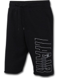 PJ892 メンズ ジョーダン スウェット ハーフパンツ Jordan Jumpman Air Fleece Shorts 黒白ダークグレー