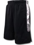 BN732 メンズ NBA ブルックリン・ネッツ バスケットボールショーツ Zipway Brooklyn Nets Shorts ジップウェイ バスパン 黒灰