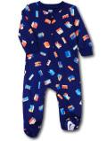 BY244 ベビー ナイキ カバーオール Nike Infant Coverall ベビー服 赤ちゃん 紺ネオンオレンジ 【メール便対応】