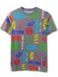 NK448 ジュニア ナイキ エアマックス Tシャツ Nike Air Max Youth T-Shirt キッズ ユース トップス ダークグレー 【メール便対応】