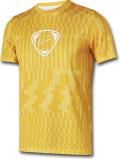 KL695 メンズ ナイキ トレーニング Tシャツ Nike Dri-Fit Academy Training スポーツウェア 黄色白【ドライフィット】 【メール便対応】